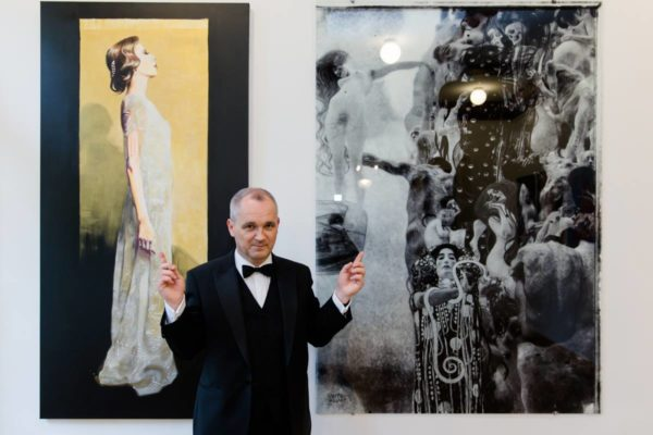 "Exhibition ""My muses"" - Klimt Villa Wien, Vienna, May 2018"