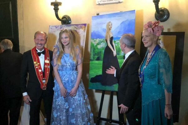 Presentation of art of Leo Stopfer at Villa Sormani Missaglia