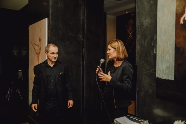 Opening of the Leo Stopfer's personal exhibition in the Palais Hansen Kempinski, November 2019